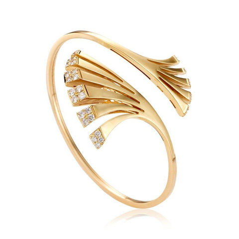 Miseno Jewelry - Ventaglio Bracelet in yellow gold | Manfredi Jewels