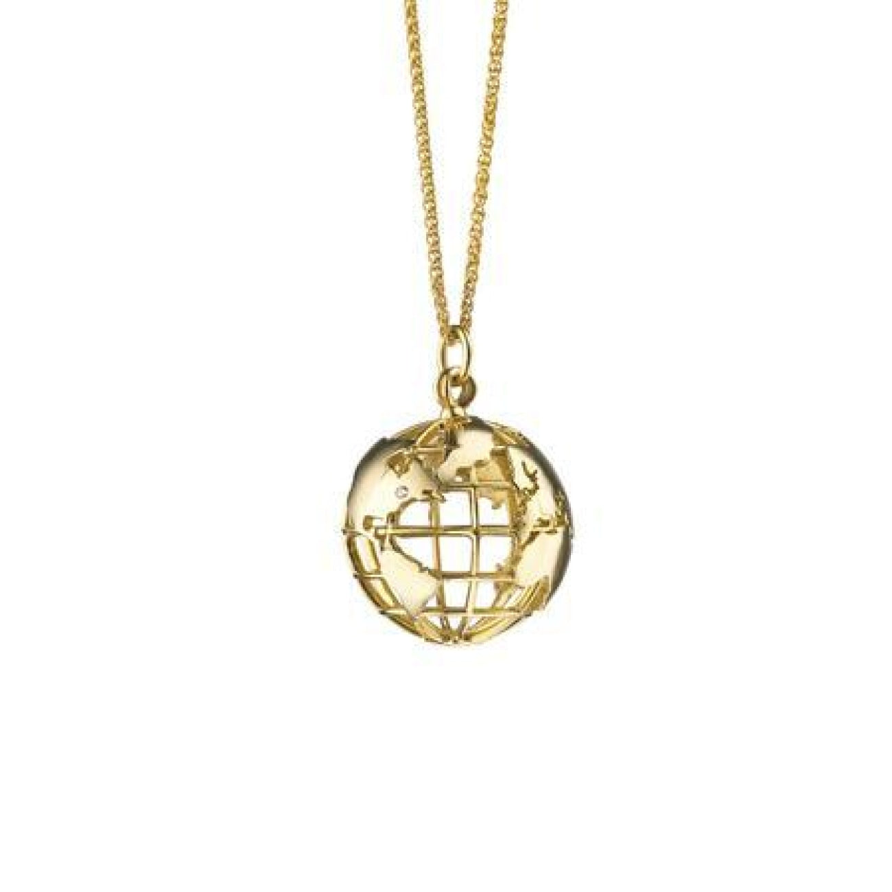 Monica Rich Kosann Jewelry - MY EARTH CHARM NECKLACE | Manfredi Jewels