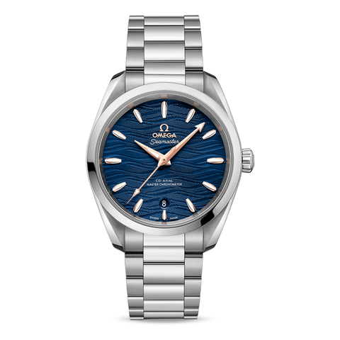 Omega Watches - Aqua Terra 150M Omega CoAxial Master Chronometer Ladies 38 Mm | Manfredi Jewels