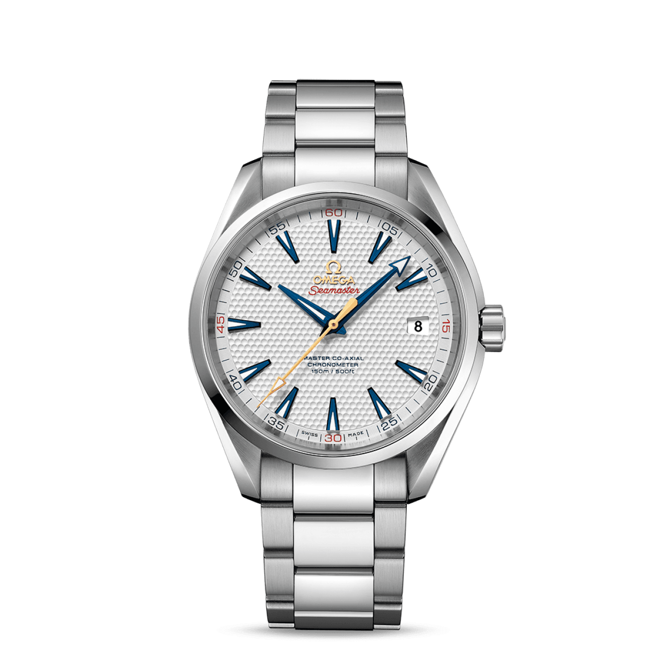 Omega Watches - Aqua Terra 150M Omega Master Co-Axial 41.5 Mm | Manfredi Jewels