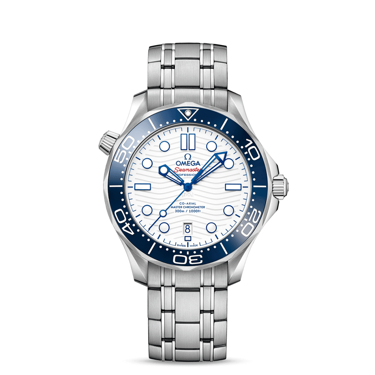 Omega Watches - Seamaster DIVER 300M OMEGA CO‑AXIAL MASTER CHRONOMETER 42 MM | Manfredi Jewels