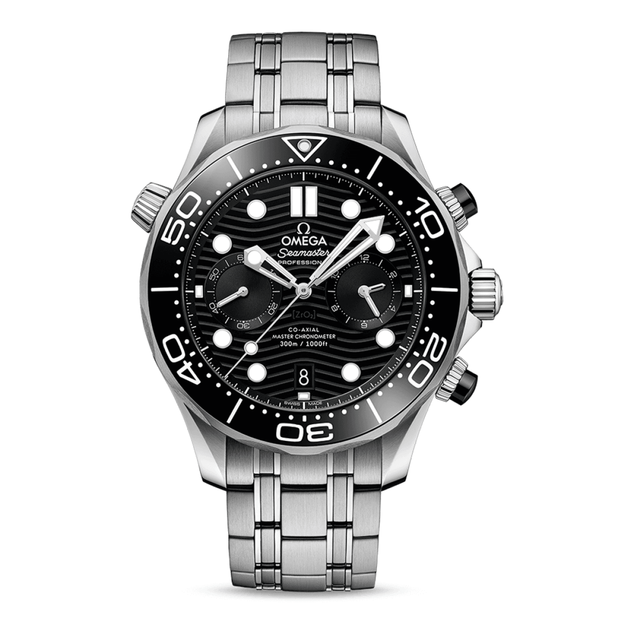Omega Watches - SEAMASTER DIVER 300M OMEGA COAXIAL MASTER CHRONOMETER CHRONOGRAPH 44 MM | Manfredi Jewels