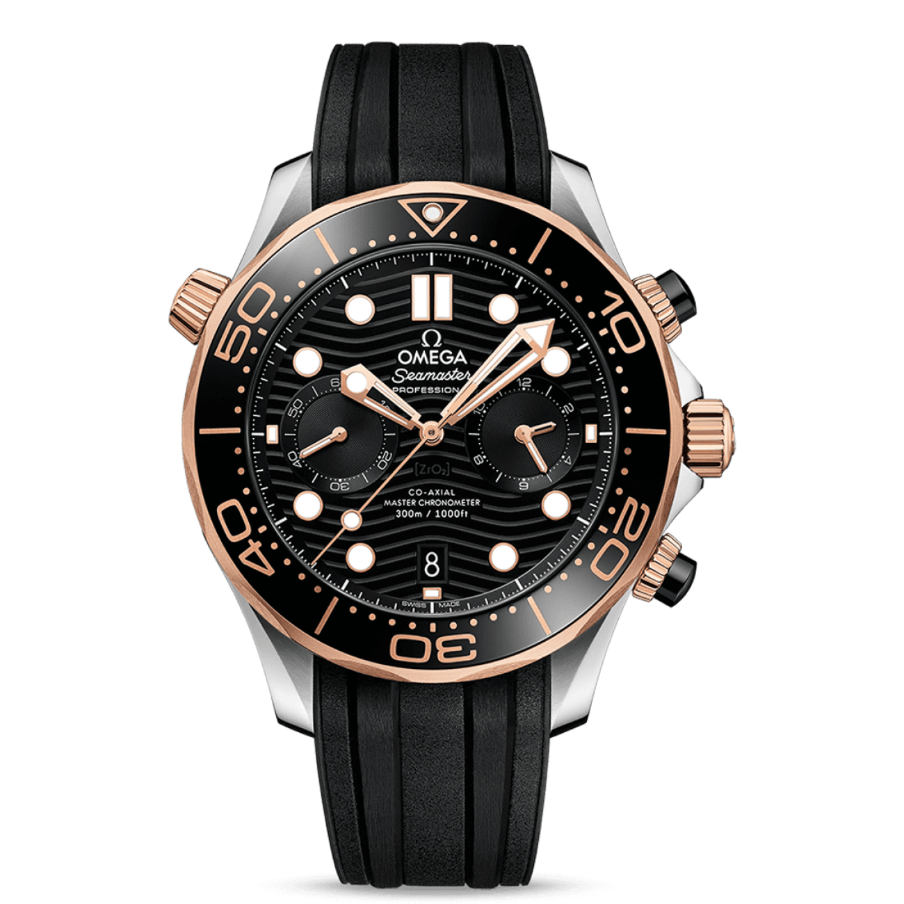 Omega Watches - SEAMASTER DIVER 300M OMEGA COAXIAL MASTER CHRONOMETER CHRONOGRAPH | Manfredi Jewels