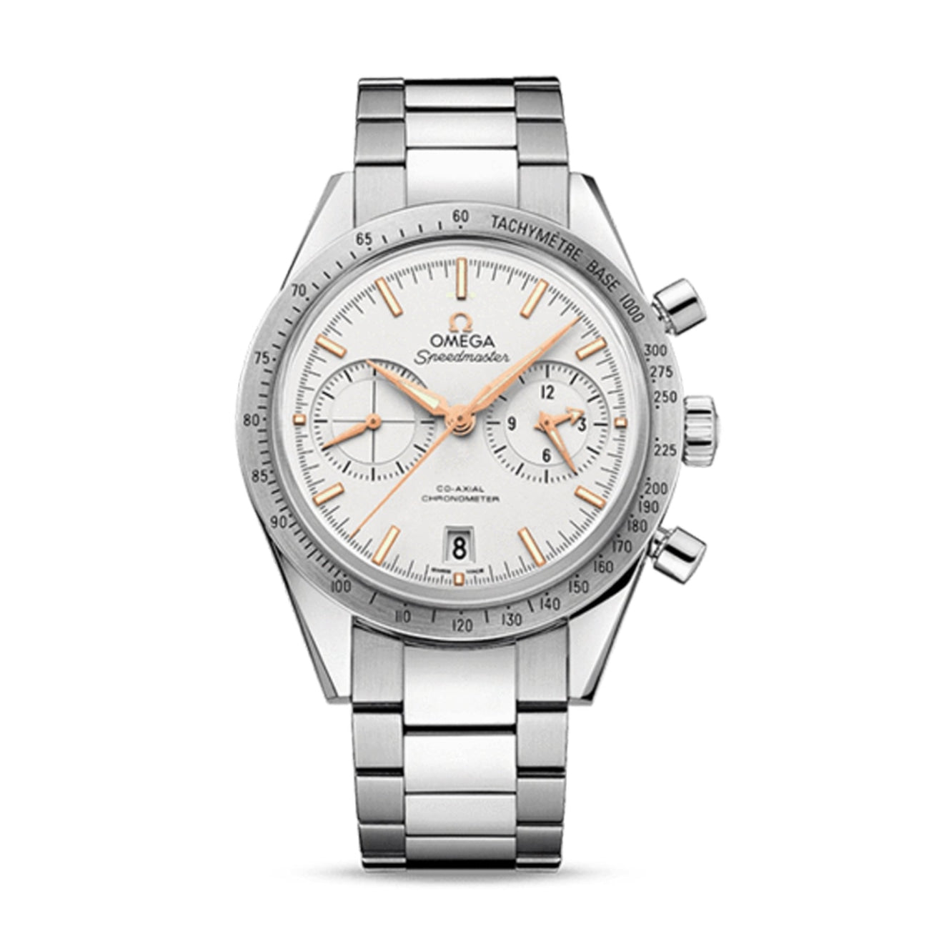 Omega Watches - Speedmaster Speedmaster '57 Omega Co-Axial Chronograph 41.5 MM | Manfredi Jewels