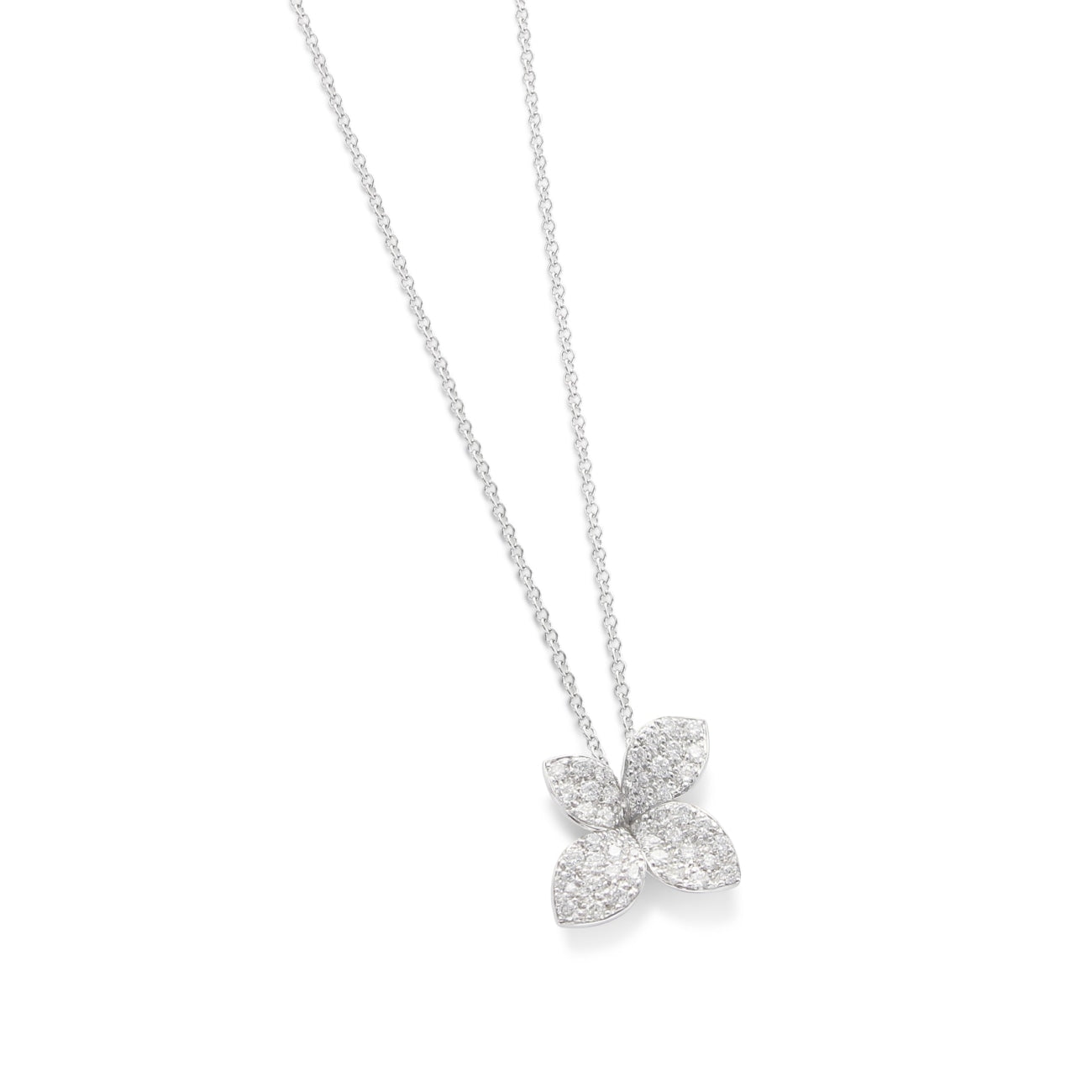 Pasquale Bruni Jewelry - PETIT SECRET GARDEN DIAM FLOWER PENDANT | Manfredi Jewels