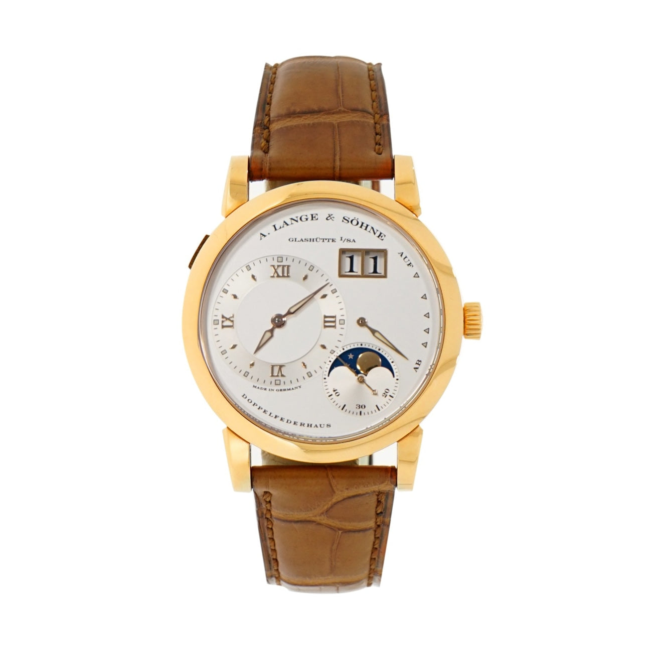 Pre-Owned A. Lange & Sohne Watches - Lange 1 Moon-Phase | Manfredi Jewels