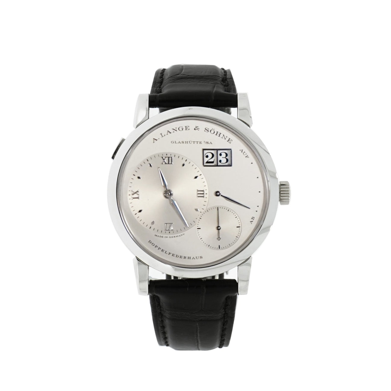Pre-Owned A. Lange & Sohne Watches - Lange 1 Platinum | Manfredi Jewels