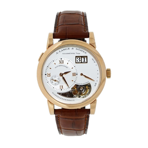 Pre-Owned A. Lange & Sohne Watches - Rose Gold Tourbillon Limited Edition | Manfredi Jewels