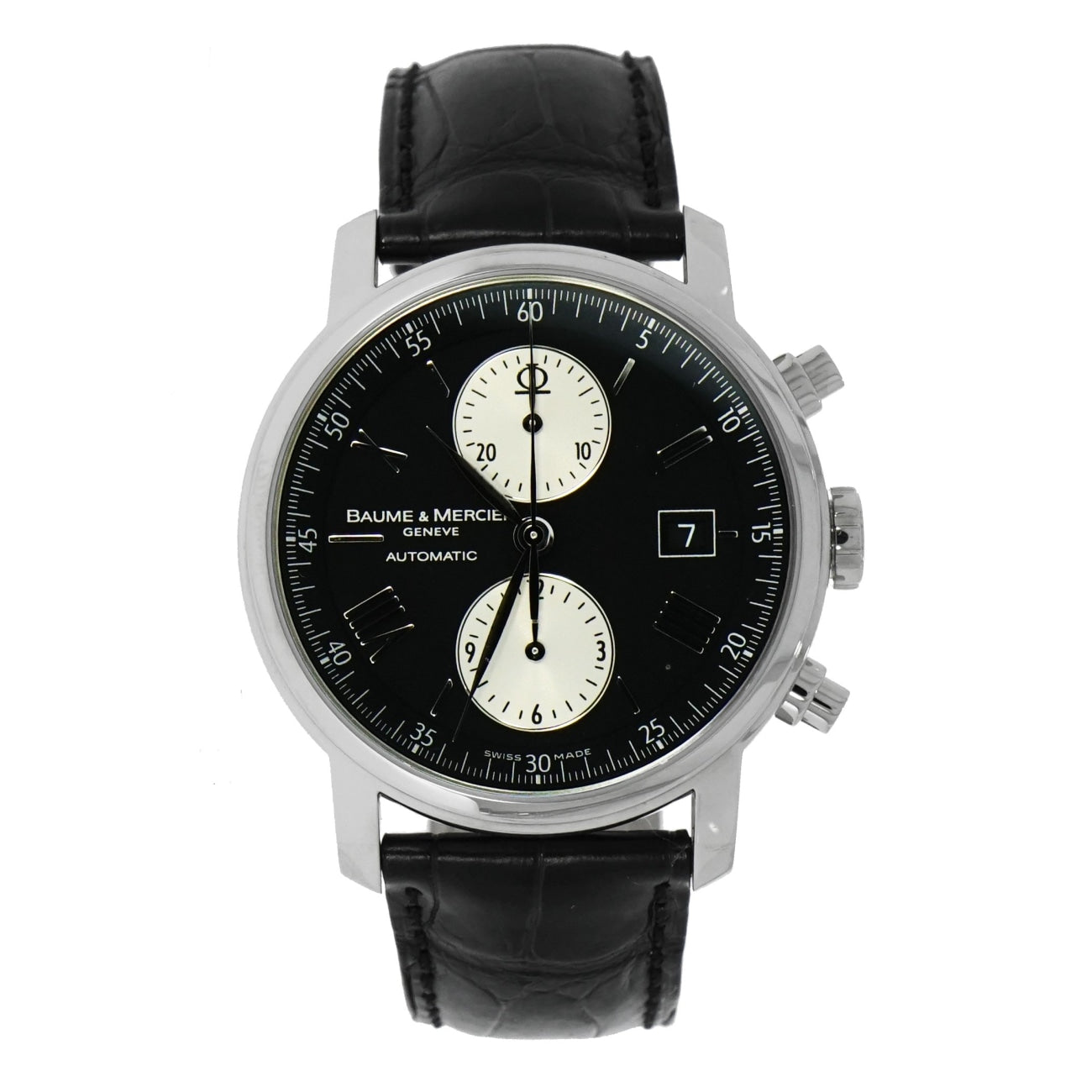 Pre-Owned Baume & Mercier Pre-Owned Watches - Classima Executives Automatic Chronograph | Manfredi Jewels