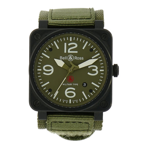 Pre-Owned Bell & Ross Watches - Military Type BR-03 | Manfredi Jewels