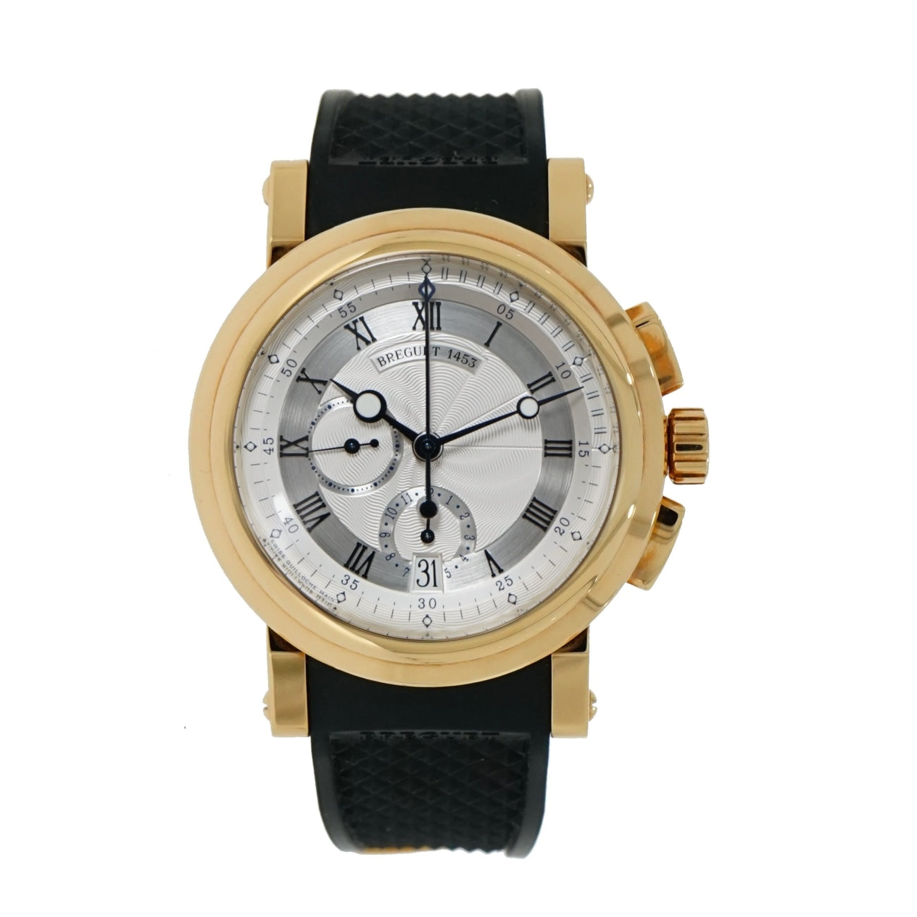 Pre-Owned Breguet Watches - Marine Chronograph in 18 Karat Yellow Gold | Manfredi Jewels