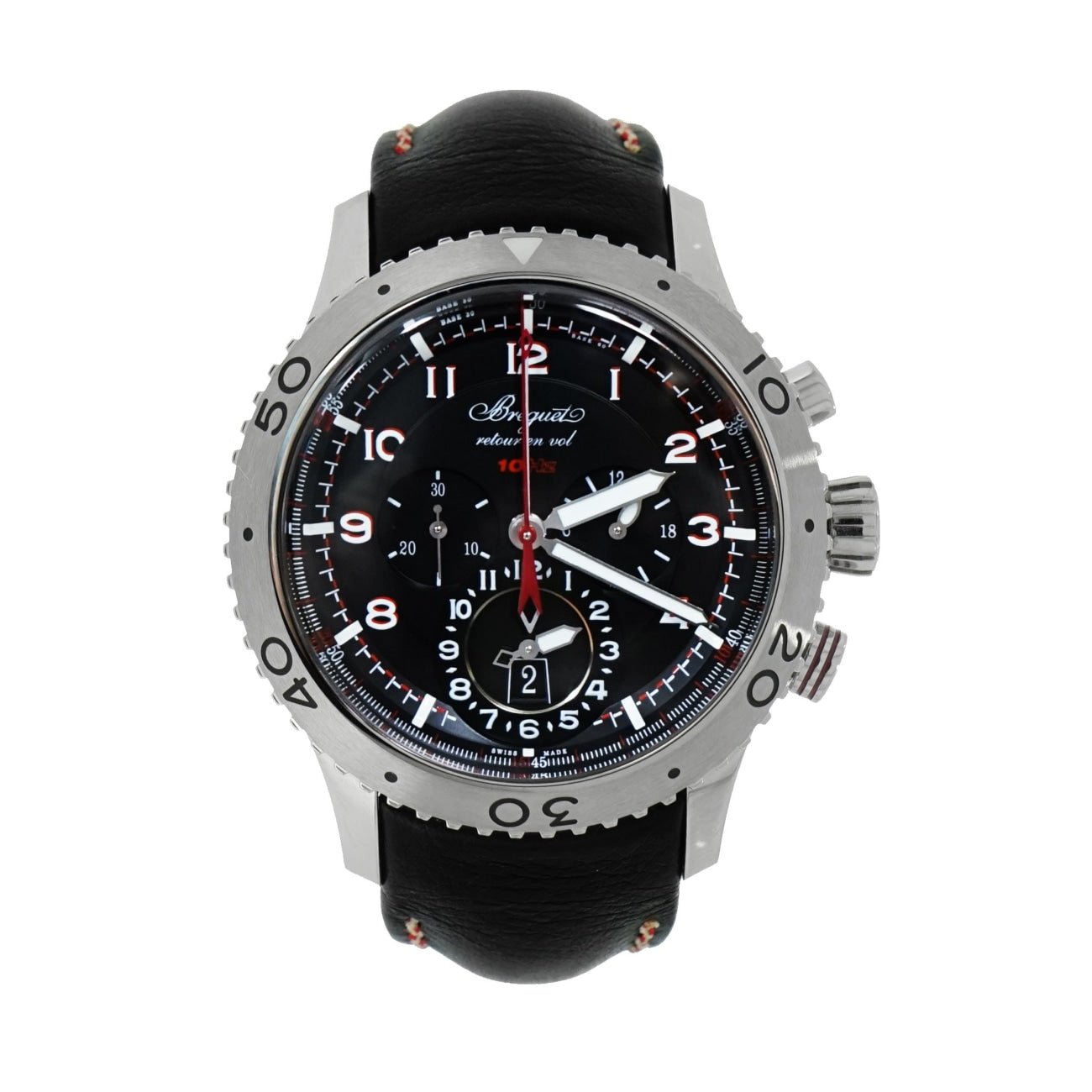 Pre-Owned Breguet Watches - Transatlantique Type XXII Flyback Chronograph | Manfredi Jewels