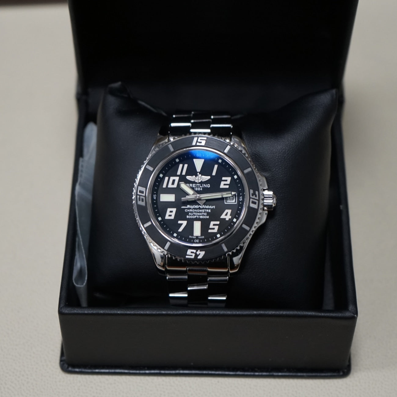 Pre-Owned Breitling Watches - Breitling Super Ocean 42 Abyss A17364 | Manfredi Jewels