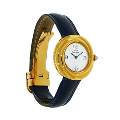 Pre-Owned Cartier Watches - Ladys Must de Cartier Vermeil | Manfredi Jewels