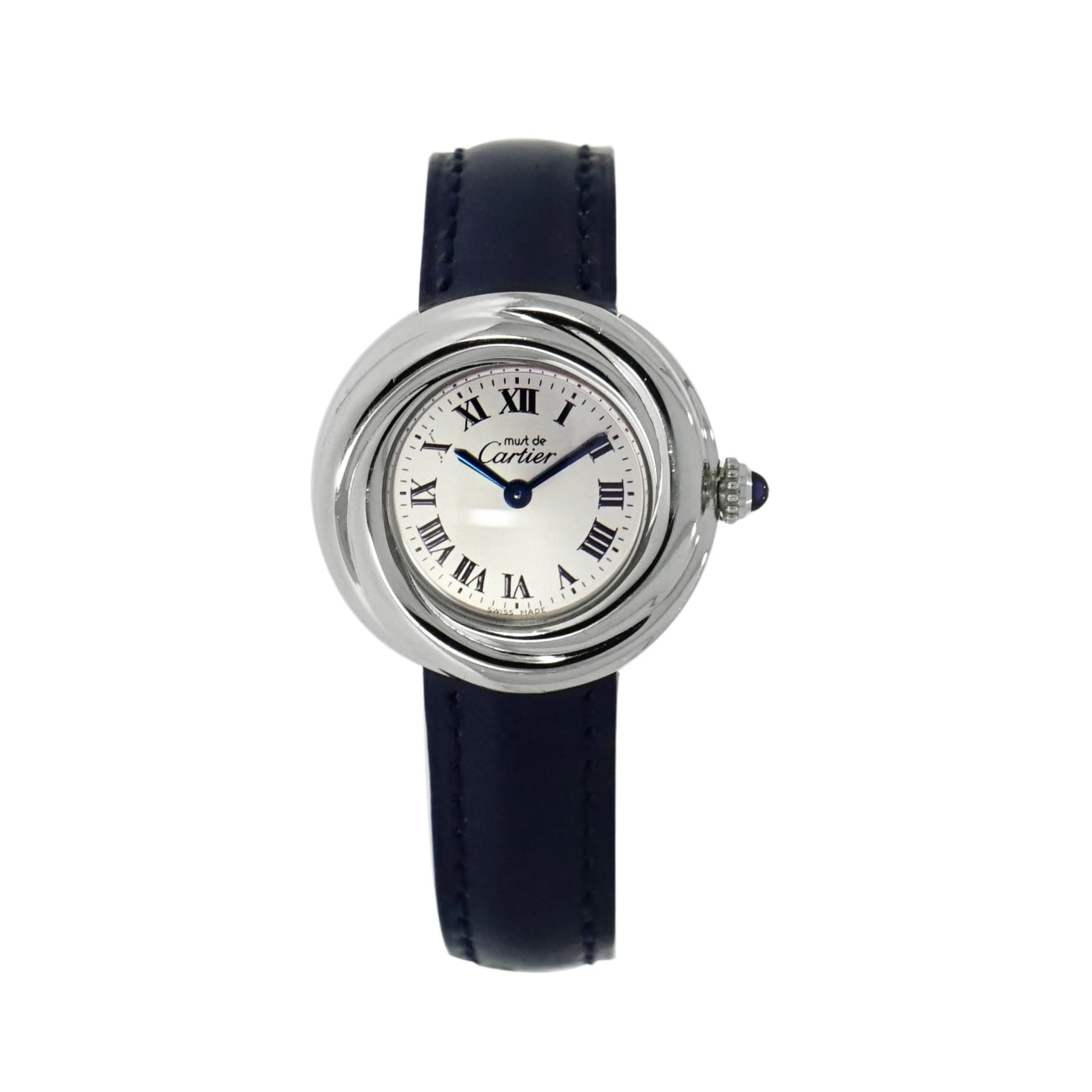 Pre-Owned Cartier Watches - Cartier Must de Cartier Sterling Silver | Manfredi Jewels