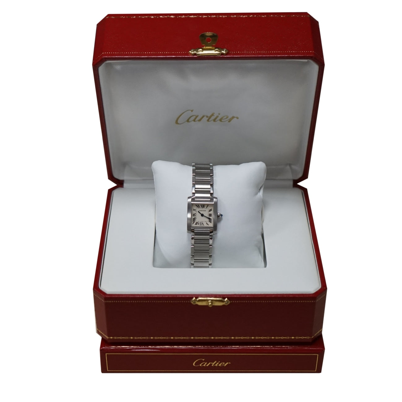 Pre-Owned Cartier Watches - Cartier Tank Francaise PM in Stainless Steel | Manfredi Jewels