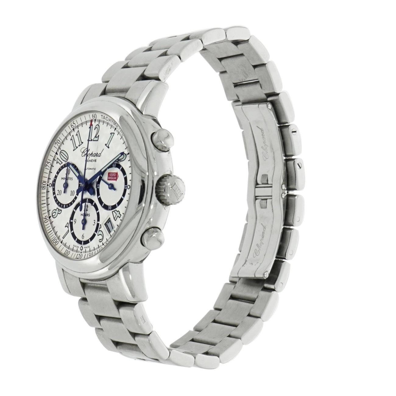 Pre-Owned Chopard Watches - Chopard Mille Miglia Chronograph in Stainless Steel | Manfredi Jewels