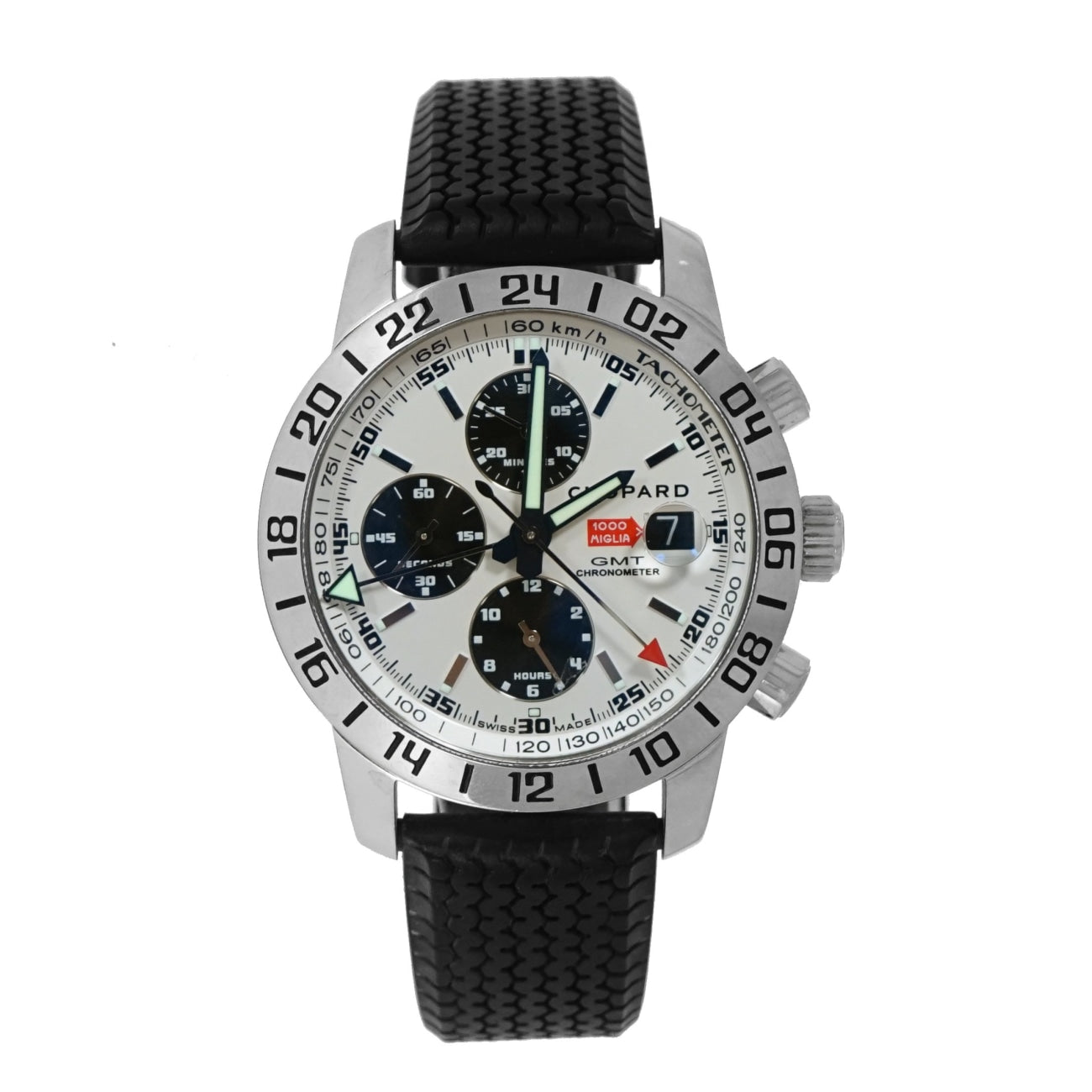 Pre-Owned Chopard Pre-Owned Watches - Mille Miglia GMT Chronograph Limited edition | Manfredi Jewels