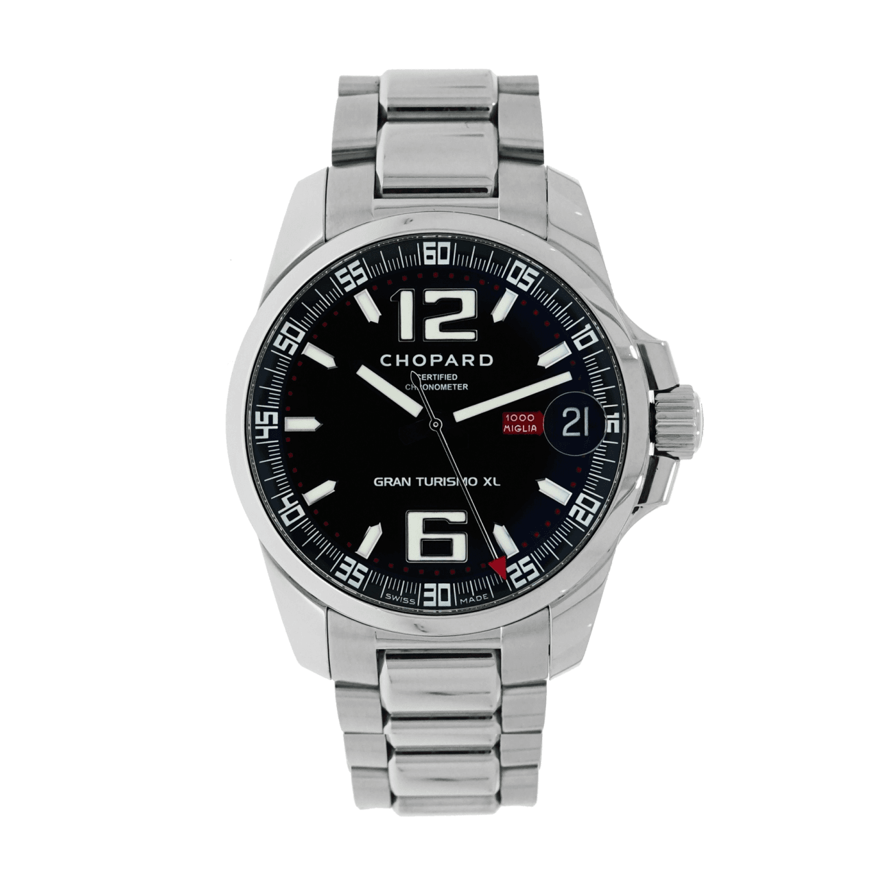 Pre-Owned Chopard Pre-Owned Watches - Mille Miglia Gran Turismo XL | Manfredi Jewels