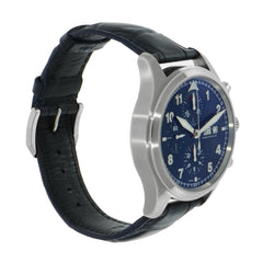 Pre-Owned IWC Watches - Pilot chronograph Laureus Sport For Good Foundation | Manfredi Jewels