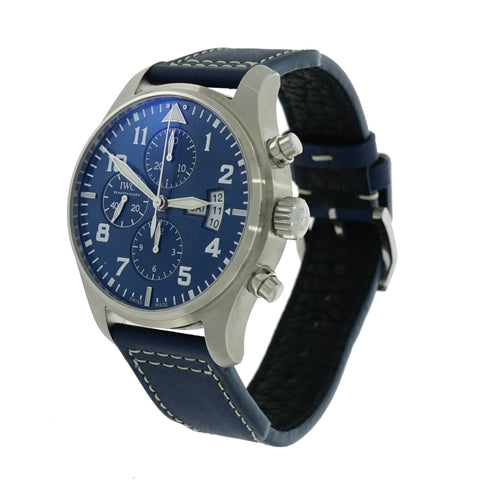 Pre-Owned IWC Watches - IWC Pilot Chronograph Le Petit Prince IW3777-06 | Manfredi Jewels