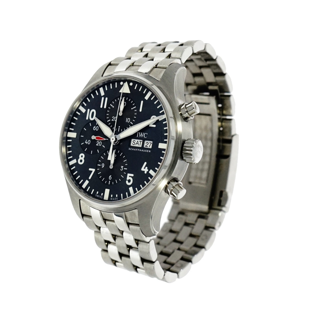 Pre-Owned IWC Watches - IWC Pilots Spitfire Chronograph IW377719 | Manfredi Jewels