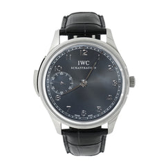 Pre-Owned IWC Watches - Portugieser Minute Repeater in 18 Karat White Gold | Manfredi Jewels