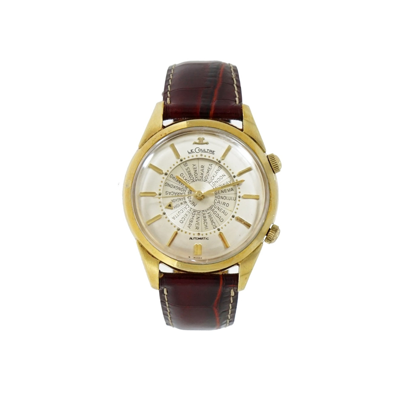 Pre-Owned Jaeger le Coultre Pre-Owned Watches - Memovox | Manfredi Jewels