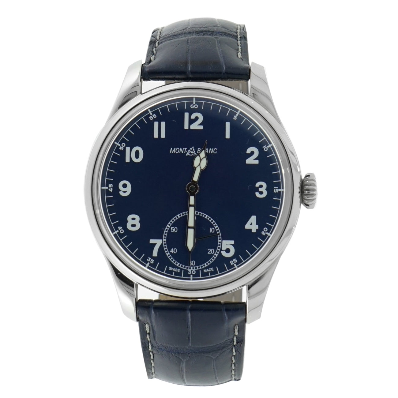 Pre-Owned Montblanc Watches - 1858 Small Second | Manfredi Jewels