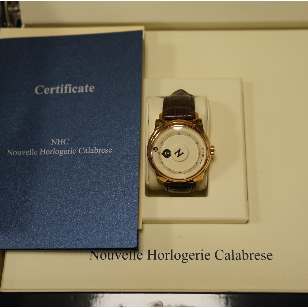 Pre-Owned NHC Analogica Watches - Nouvelle Horlogerie Calabrese Analogica Limited Edition | Manfredi Jewels