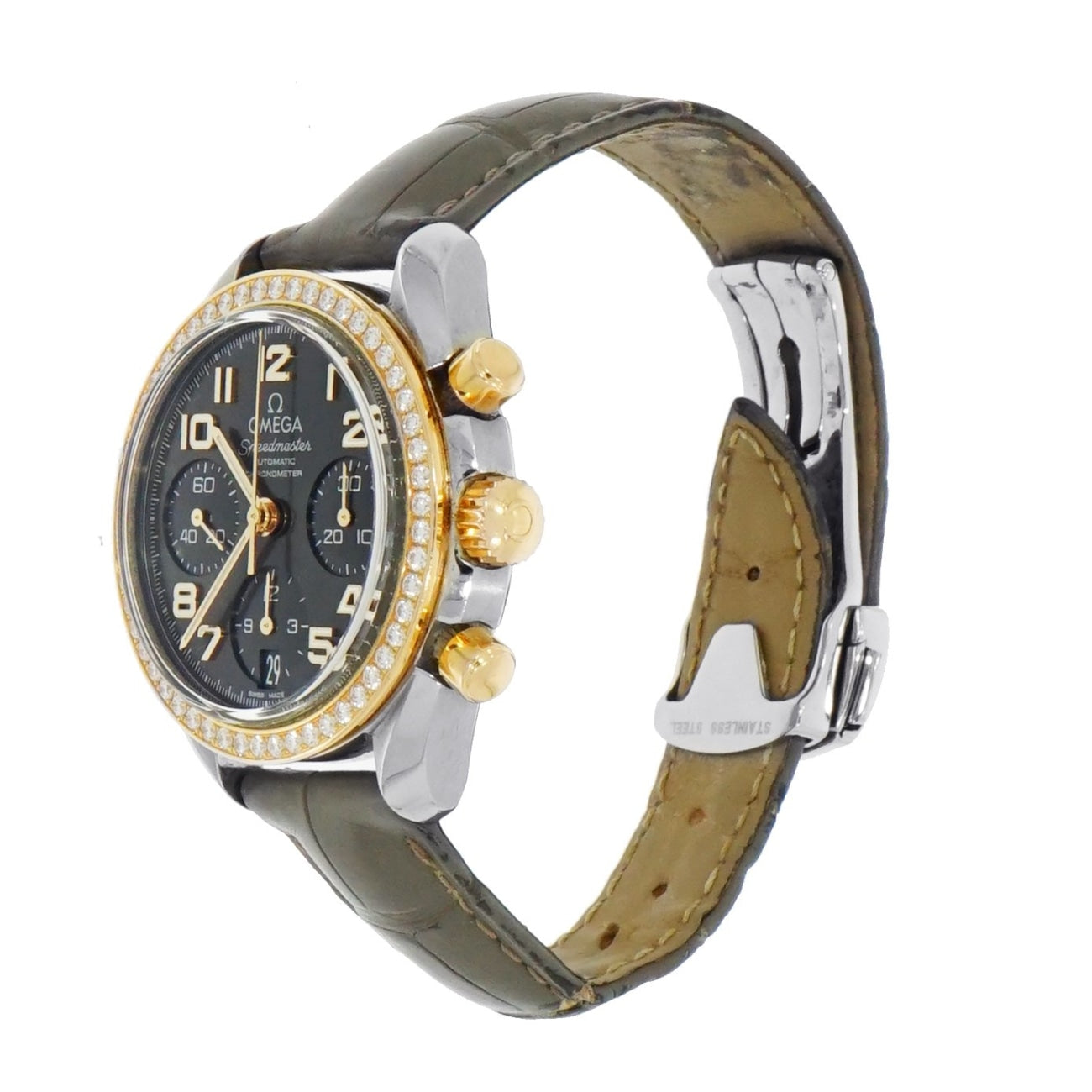 Pre-Owned Omega Watches - Ladys Speedmaster chronograph | Manfredi Jewels