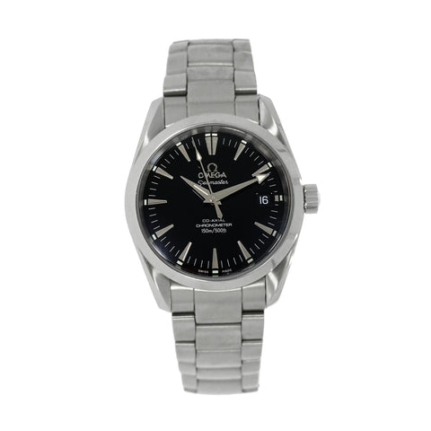 Pre-Owned Omega Watches - Seamaster Aqua Terra Mid Size Chronometer | Manfredi Jewels