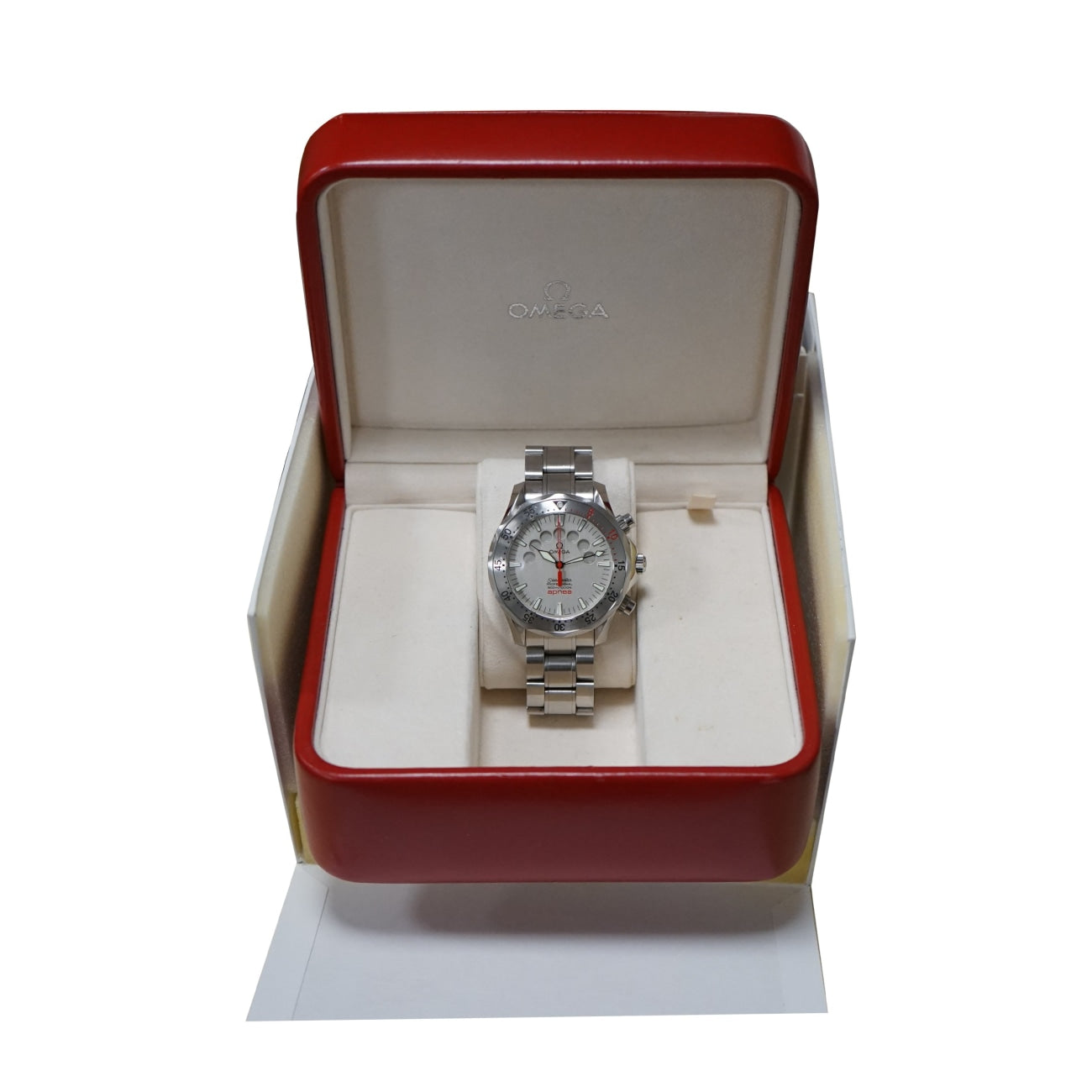 Pre-Owned Omega Watches - Seamaster Jacques Mayol Apnea in stainless steel | Manfredi Jewels