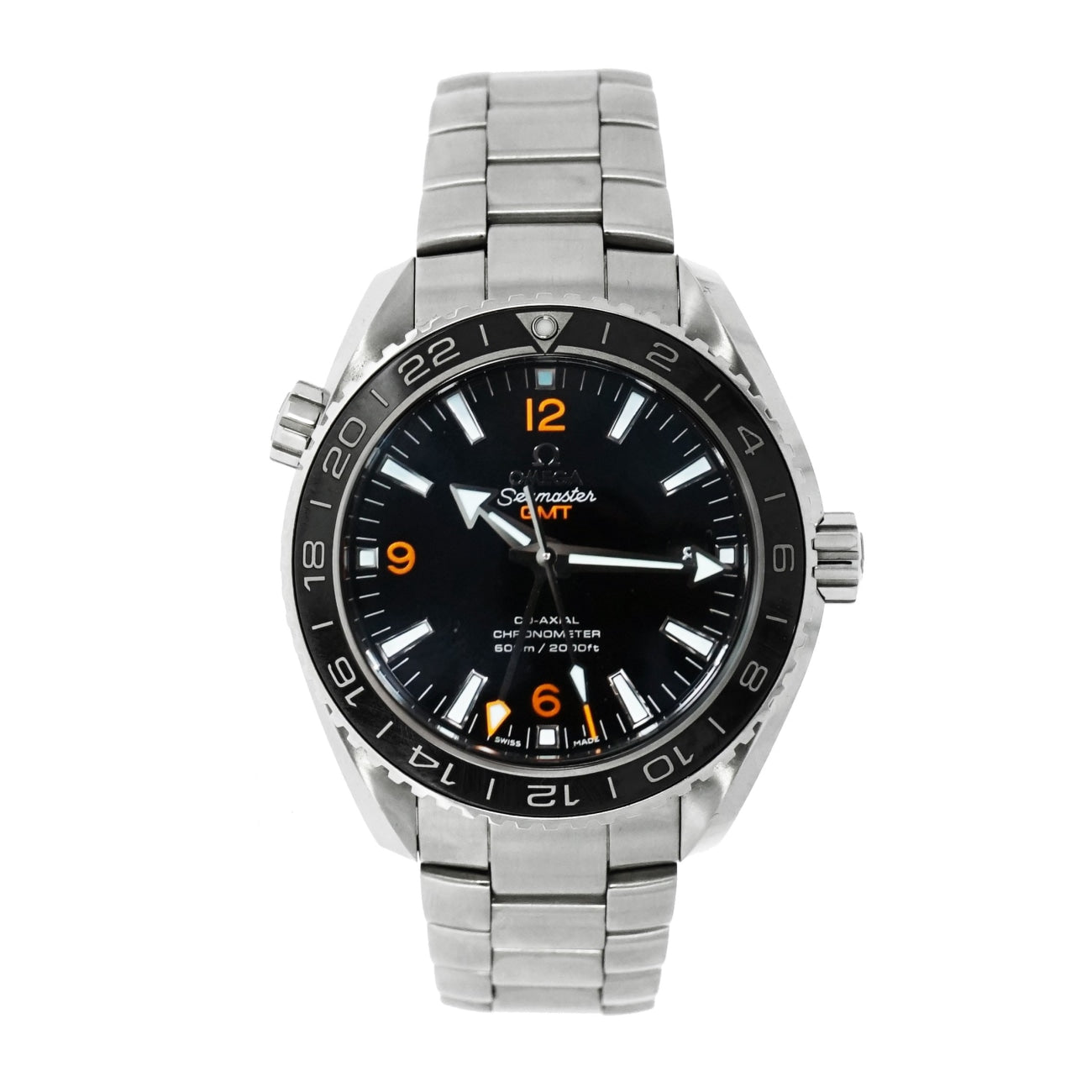 Pre-Owned Omega Watches - Seamaster Planet Ocean GMT 600M | Manfredi Jewels