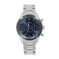Pre-Owned Omega Watches - Speedmaster 57 co-axial chronograph stainless steel | Manfredi Jewels