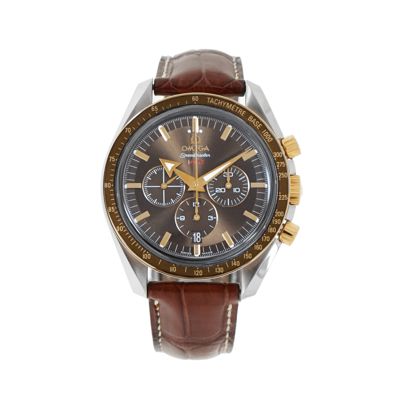 Pre-Owned Omega Watches - Speedmaster Broad Arrow 1957 Chronograph | Manfredi Jewels