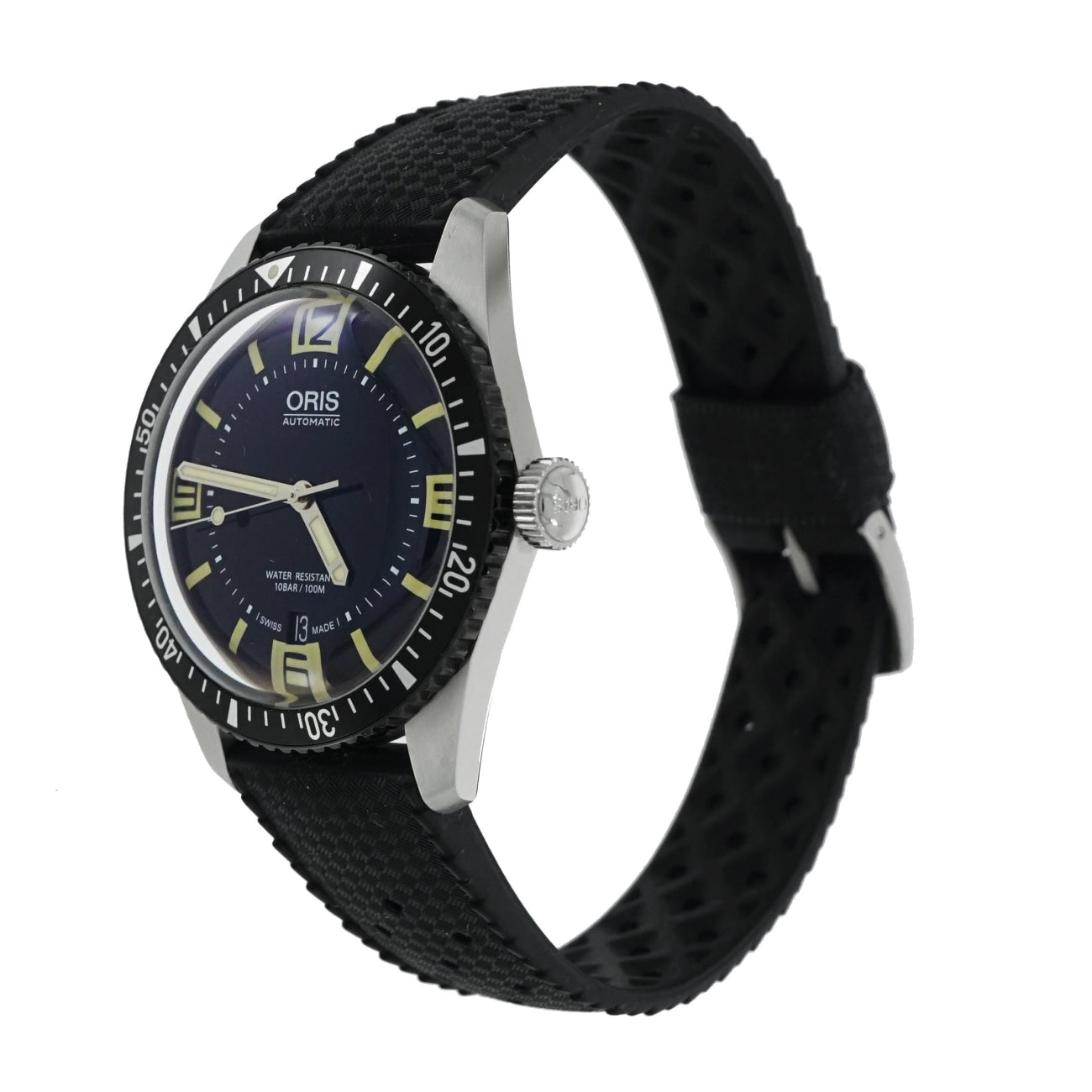 Pre-Owned ORIS Watches - Oris Divers Sixty-five Stainless Steel-0173377 | Manfredi Jewels