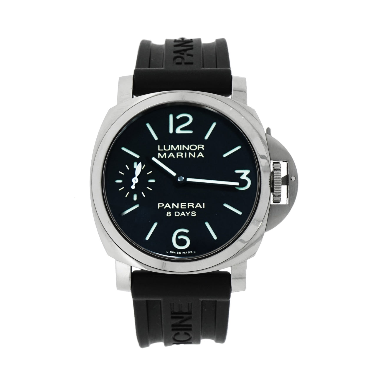 Pre-Owned Panerai Pre-Owned Watches - Pre-Owned Panerai Luminor 8 days PAM00510 | Manfredi Jewels