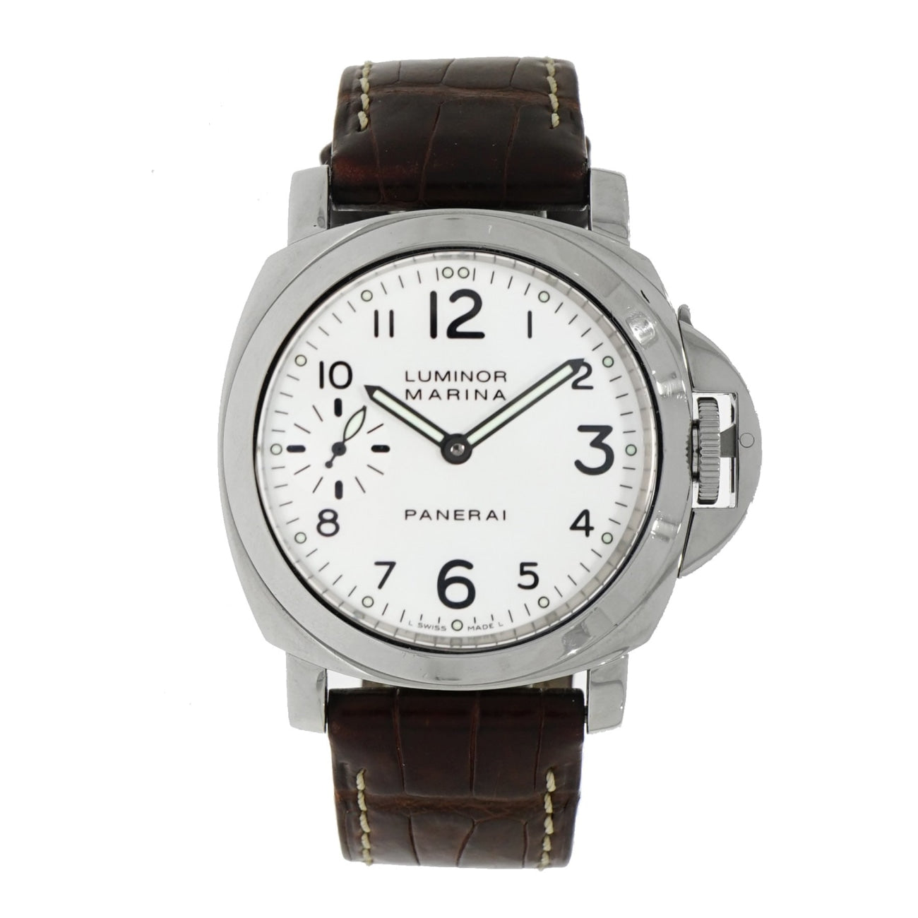 Pre-Owned Panerai Pre-Owned Watches - Luminor Marina Historic | Manfredi Jewels