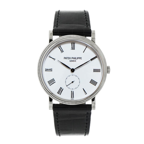 Pre-Owned Patek Philippe Watches - Calatrava 5119G in White Gold | Manfredi Jewels