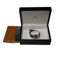 Pre-Owned Rolex Watches - Rolex Cellini Cellinium Platinum 5241 | Manfredi Jewels