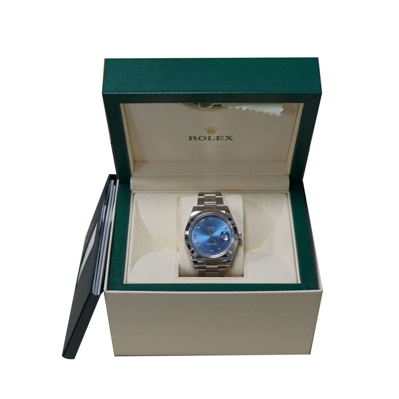 Pre-Owned Rolex Watches - Pre-Owned Rolex Datejust II Blue dial BLR0116300 | Manfredi Jewels
