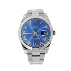 Pre-Owned Rolex Watches - Rolex Datejust II Blue dial BLR0116300 | Manfredi Jewels