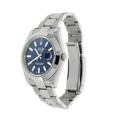 Pre-Owned Rolex Watches - Datejust II Blue dial in Stainless Steel | Manfredi Jewels