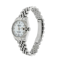 Pre-Owned Rolex Watches - Datejust Midsize in Stainless Steel 178344 | Manfredi Jewels