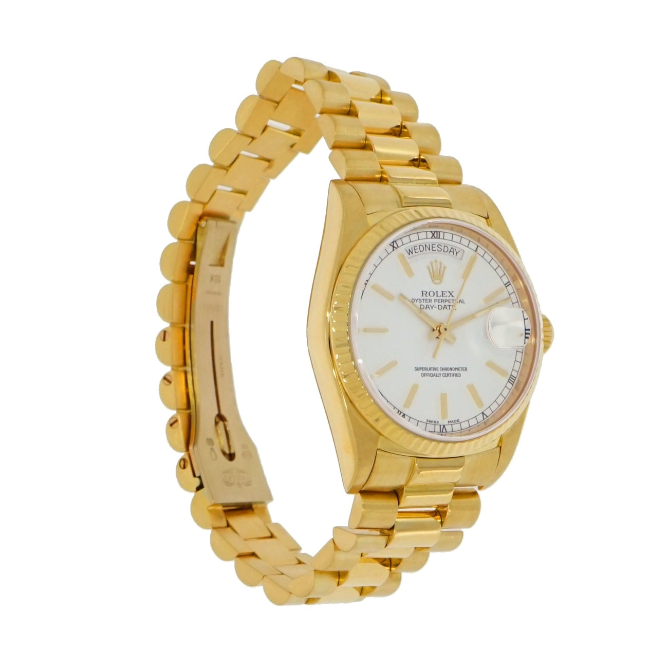 Pre-Owned Rolex Watches - day-date 18038 | Manfredi Jewels