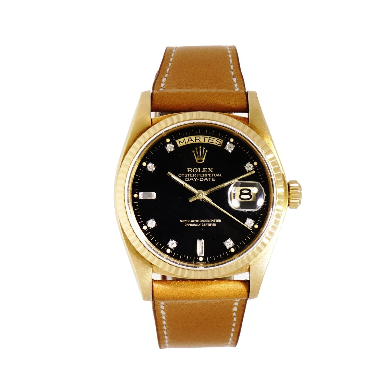 Pre-Owned Rolex Watches - Day/Date crafted in yellow gold | Manfredi Jewels