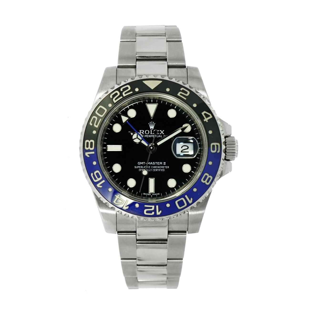 Pre-Owned Rolex Watches - Gmt Master II 116710B | Manfredi Jewels
