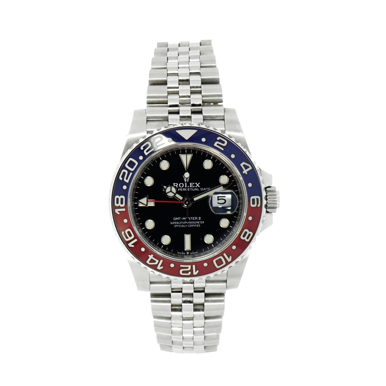 Pre-Owned Rolex Watches - GMT Master II 126710BLRO | Manfredi Jewels