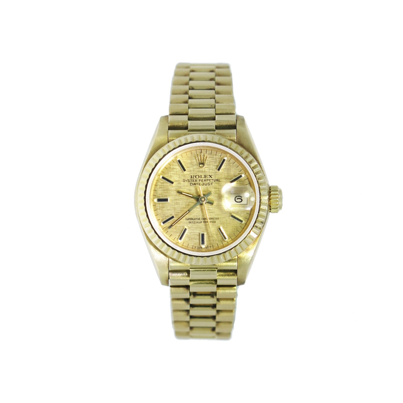 Pre-Owned Rolex Pre-Owned Watches - Lady President 69178 | Manfredi Jewels
